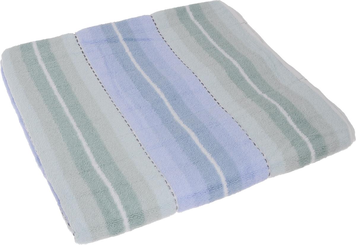 Полотенце Soavita Premium. Aldo, цвет: голубой, зеленый, 70 х 140 см65431Полотенце Soavita Premium. Aldo выполнено из 100% хлопка. Изделие отлично впитывает влагу, быстро сохнет, сохраняет яркость цвета и не теряет форму даже после многократных стирок. Полотенце очень практично и неприхотливо в уходе. Оно создаст прекрасное настроение и украсит интерьер в ванной комнате.