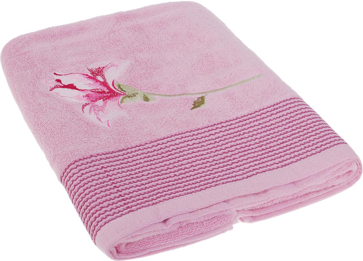 Полотенце Soavita Alice, цвет: розовый, 70 х 140 см63981Полотенце Soavita Alice выполнено из 100% хлопка. Изделие отлично впитывает влагу, быстро сохнет, сохраняет яркость цвета и не теряет форму даже после многократных стирок. Полотенце очень практично и неприхотливо в уходе. Оно создаст прекрасное настроение и украсит интерьер в ванной комнате.