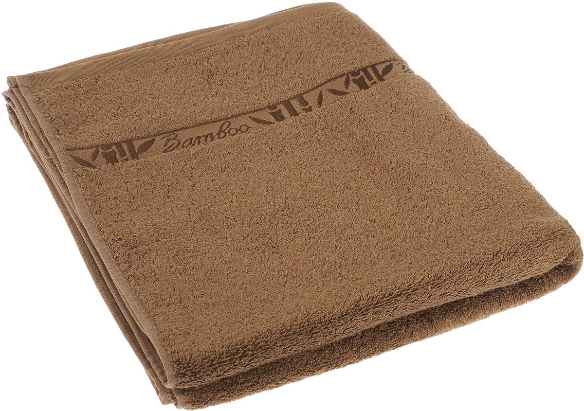 Полотенце Soavita Daniel, цвет: коричневый, 70 х 130 см64129Полотенце Soavita Daniel выполнено из 100% бамбукового волокна. Изделие отлично впитывает влагу, быстро сохнет, сохраняет яркость цвета и не теряет форму даже после многократных стирок. Полотенце очень практично и неприхотливо в уходе. Оно создаст прекрасное настроение и украсит интерьер в ванной комнате.