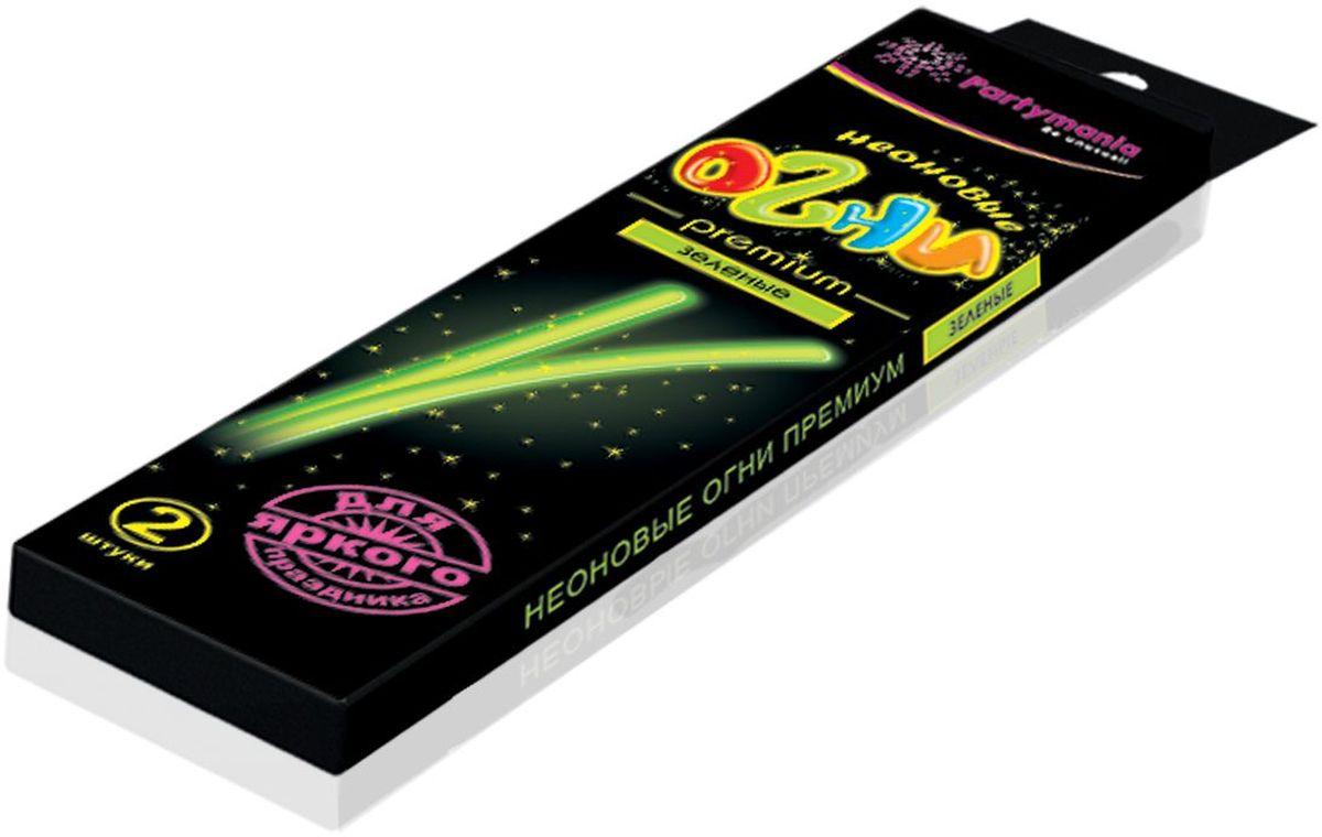 Partymania Изделие для праздников и карнавалов Неоновые огни Премиум T0110 цвет зеленыеT0110_зеленыеЗолотые блестки, вкрапленные в пластик, большой диаметр палочек, а также фигурные цветные коннекторы делают это изделие особо нарядным, поэтому мы назвали его Premium. Комплектация: 1. Неоновые палочки с блестками 7х225 мм. (одного цвета) - 2 шт. 2. Фигурный коннектор для соединения - 2 шт. Размер упаковки - 275х60х135 мм. Цвета палочек: желтые, зеленые, красные, фиолетовые.