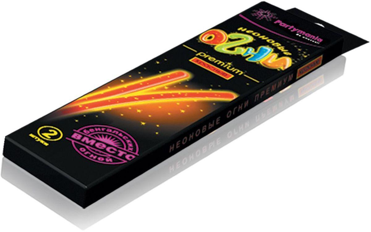 Partymania Изделие для праздников и карнавалов Неоновые огни Премиум T0110 цвет красныеT0110_красныеЗолотые блестки, вкрапленные в пластик, большой диаметр палочек, а также фигурные цветные коннекторы делают это изделие особо нарядным, поэтому мы назвали его Premium. Комплектация: 1. Неоновые палочки с блестками 7х225 мм. (одного цвета) - 2 шт. 2. Фигурный коннектор для соединения - 2 шт. Размер упаковки - 275х60х135 мм. Цвета палочек: желтые, зеленые, красные, фиолетовые.