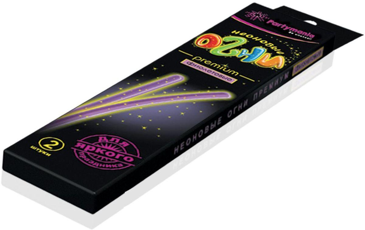Partymania Изделие для праздников и карнавалов Неоновые огни Премиум T0110 цвет фиолетовыеT0110_фиолетовыеЗолотые блестки, вкрапленные в пластик, большой диаметр палочек, а также фигурные цветные коннекторы делают это изделие особо нарядным, поэтому мы назвали его Premium. Комплектация: 1. Неоновые палочки с блестками 7х225 мм. (одного цвета) - 2 шт. 2. Фигурный коннектор для соединения - 2 шт. Размер упаковки - 275х60х135 мм. Цвета палочек: желтые, зеленые, красные, фиолетовые.