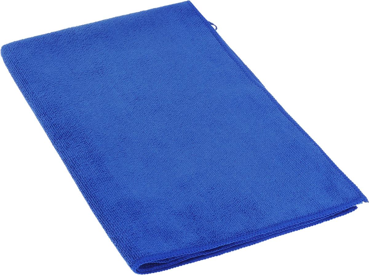 Полотенце кухонное Soavita, цвет: синий, 50 х 70 см63865Полотенце Soavita выполнено из микрофайбера (80% полиэстер и 20% полиамид). Изделие отлично впитывает влагу, быстро сохнет, сохраняет яркость цвета и не теряет форму даже после многократных стирок. Полотенце очень практично и неприхотливо в уходе. Оно создаст прекрасное настроение и украсит интерьер в ванной комнате.