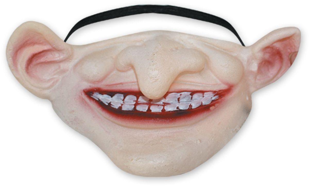 Partymania Морда-маска T1235 цвет 3T1235_3Забавная маска из латекса на пол-лица - меняет Вашу внешность, оставляя узнаваемым! Удобно сидит на лице, двигается вместе с мимикой. Вызывает восторг окружающих! 4 дизайна в ассортименте.
