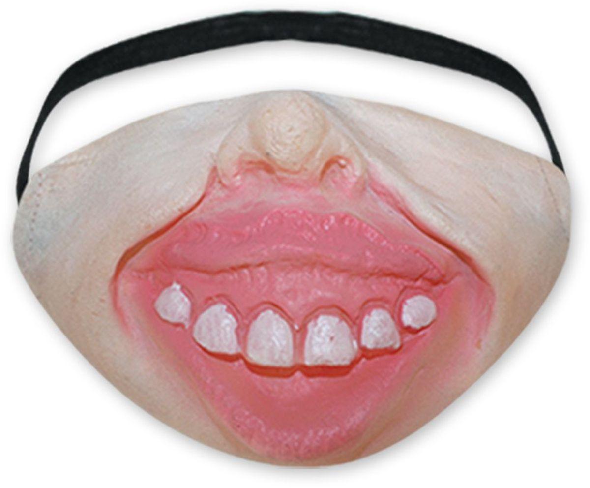 Partymania Морда-маска T1235 цвет 4T1235_4Забавная маска из латекса на пол-лица - меняет Вашу внешность, оставляя узнаваемым! Удобно сидит на лице, двигается вместе с мимикой. Вызывает восторг окружающих! 4 дизайна в ассортименте.