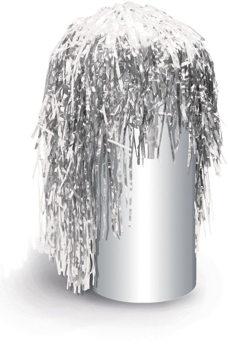 Partymania Маскарадный парик из дождика Веселый праздник T1222 цвет серебряныйT1222_серебряныйИзделие развлекательного характера. Яркий парик из фольги придаст Вам сказочный вид и сделает Вас главной героиней любого праздника, создав при этом праздничное настроение.