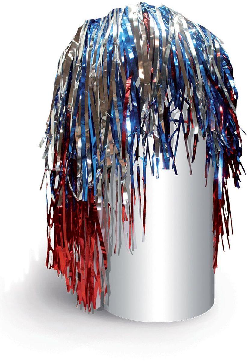 Partymania Маскарадный парик из дождика Веселый праздник T1222 цвет сине-красный-серебряныйT1222_сине-красный-серебряныйИзделие развлекательного характера. Яркий парик из фольги придаст Вам сказочный вид и сделает Вас главной героиней любого праздника, создав при этом праздничное настроение.