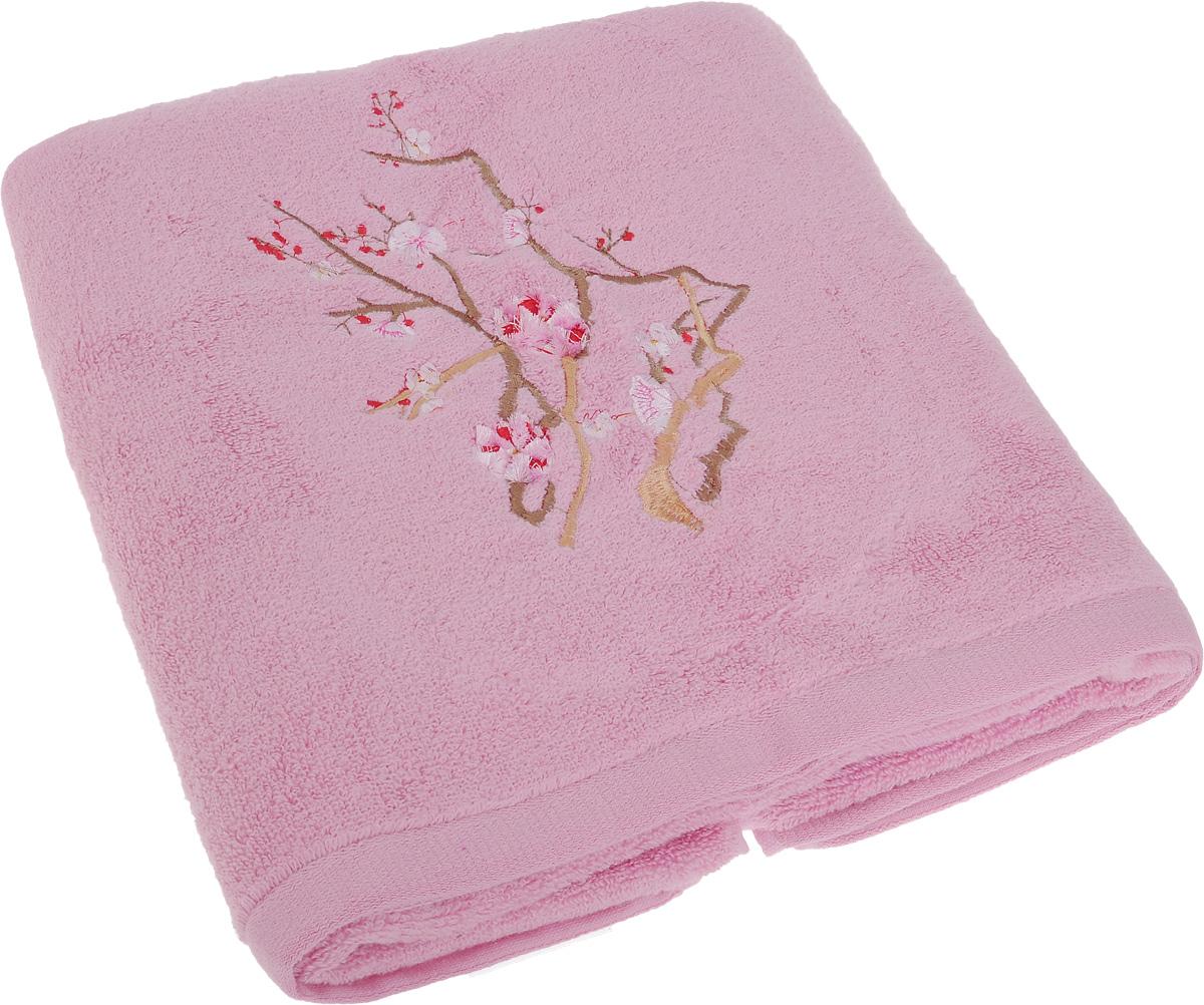 Полотенце Soavita Spring, цвет: розовый, 70 х 140 см63987Полотенце Soavita Spring выполнено из 100% хлопка. Изделие отлично впитывает влагу, быстро сохнет, сохраняет яркость цвета и не теряет форму даже после многократных стирок. Полотенце очень практично и неприхотливо в уходе. Оно создаст прекрасное настроение и украсит интерьер в ванной комнате.