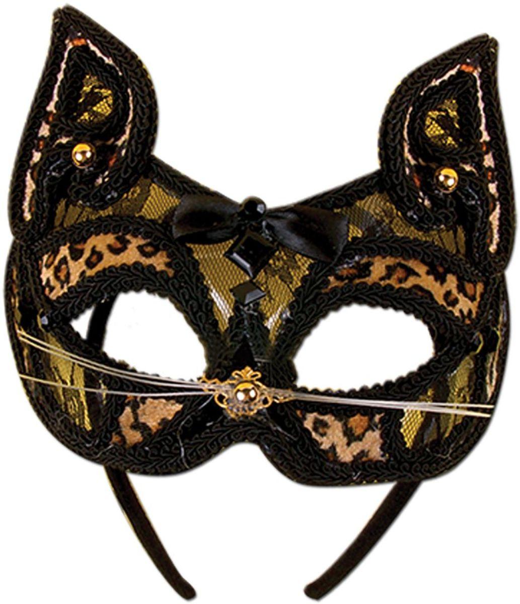 Partymania Маска для карнавала Венеция T1209 цвет кошка
