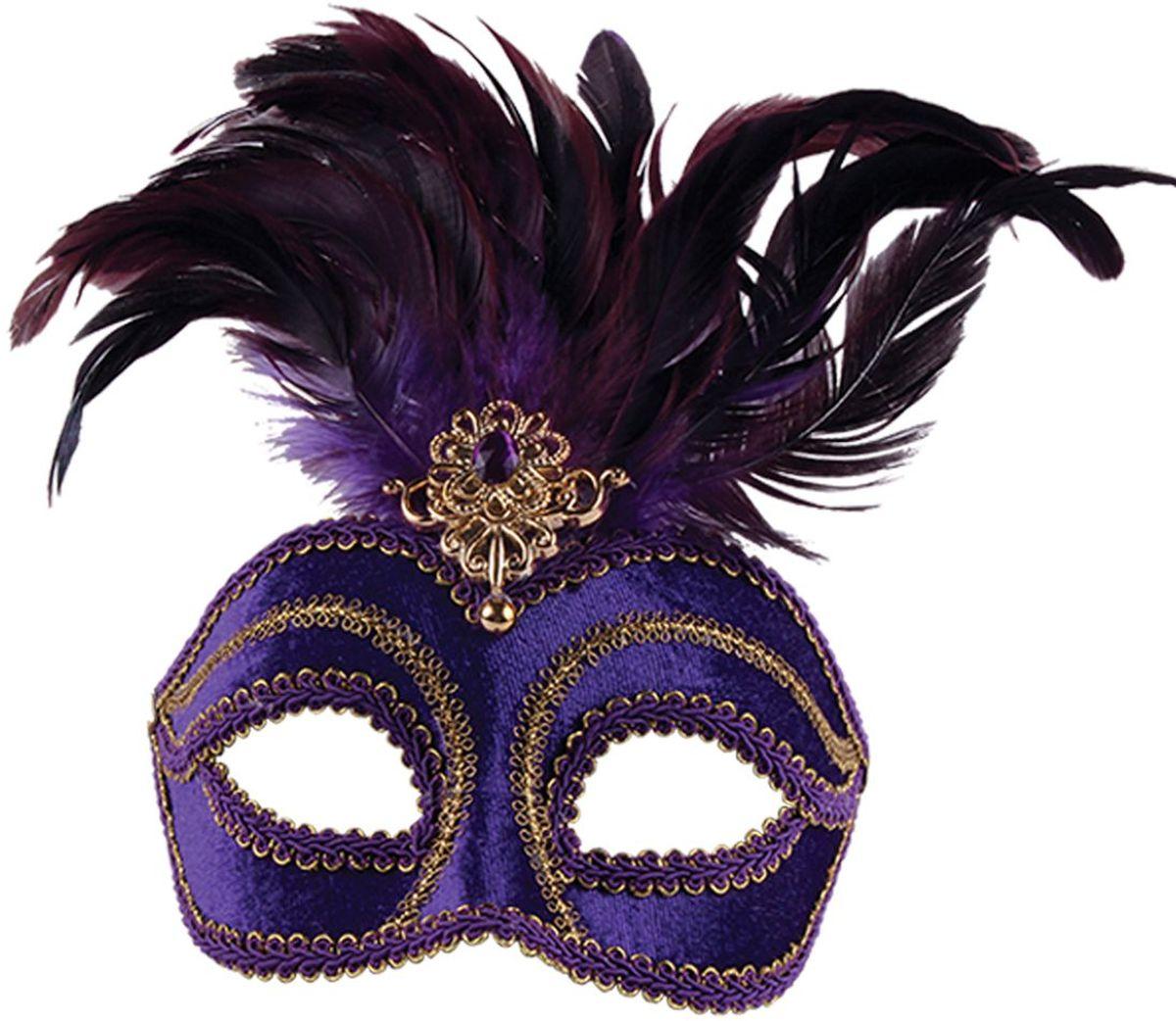 Partymania Маска для карнавала Венеция T1209 цвет фиолетовыйT1209_синяяКрасочное дополнение к карнавальному костюму. Благодаря специальным дужкам, маска легко крепится и не создает проблем даже при длительном ношении. А тематика, отображенная в этой линейке масок, поможет окунуться в атмосферу яркого венецианского карнавала. Четыре дизайна масок поставляются под одним артикулом. Размер упаковки - 188х178х118 мм.