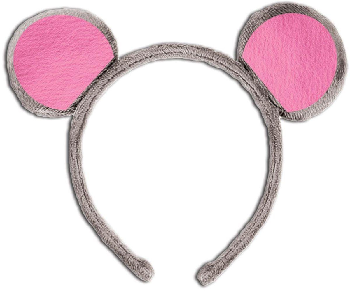 Подробнее о Partymania Ободок детский Веселые зверята Мышь partymania ободок детский веселые зверята зебра