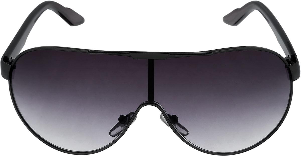 Очки солнцезащитные женские Mitya Veselkov, цвет: черный. NYS-6048NYS-6048Стильные солнцезащитные очки Mitya Veselkov выполнены из поликарбоната, высококачественного пластика и элементов из металлического сплава. Поликарбонат, используемый при изготовлении линз, обладает высокой ударопрочностью, не искажает изображение, не подвержен нагреванию и вредному воздействию солнечных лучей. Линзы дополнены защитой от ультрафиолетового излучения UV-400. Оправа очков легкая, прилегающей формы, оснащена носоупорами и поэтому обеспечивает максимальный комфорт. Такие очки защитят глаза от ультрафиолетовых лучей, подчеркнут вашу индивидуальность и сделают ваш образ завершенным.