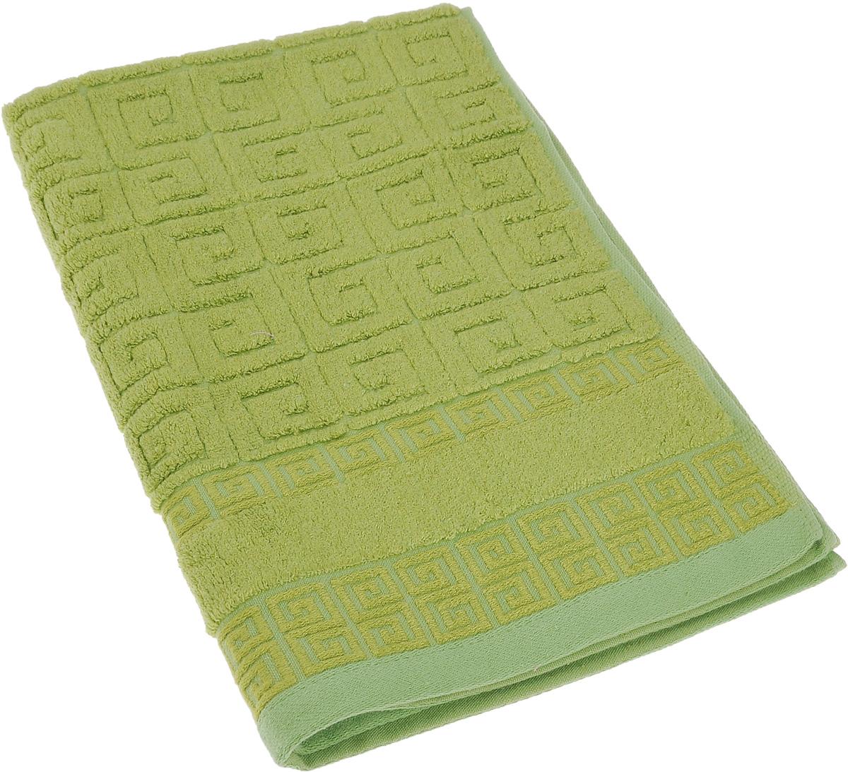Полотенце Soavita Alber, цвет: зеленый, 50 х 70 см64149Полотенце Soavita Alber выполнено из 100% бамбукового волокна. Изделие отлично впитывает влагу, быстро сохнет, сохраняет яркость цвета и не теряет форму даже после многократных стирок. Полотенце очень практично и неприхотливо в уходе. Оно создаст прекрасное настроение и украсит интерьер в ванной комнате.