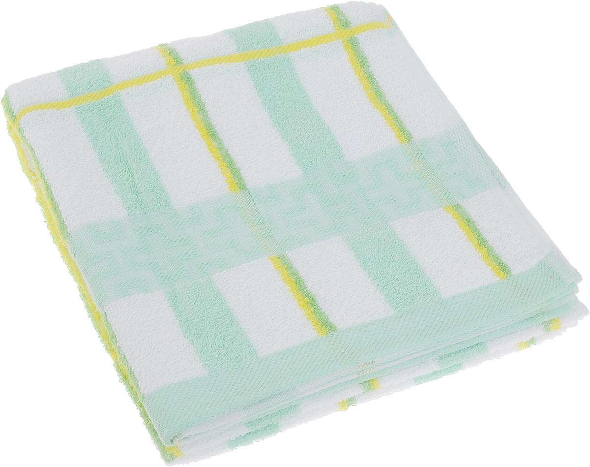 Полотенце Soavita Светлая клетка, цвет: зеленый, желтый, белый, 50 х 100 см61233Полотенце Soavita Светлая клетка выполнено из 100% хлопка. Изделие отлично впитывает влагу, быстро сохнет, сохраняет яркость цвета и не теряет форму даже после многократных стирок. Полотенце очень практично и неприхотливо в уходе. Оно создаст прекрасное настроение и украсит интерьер в ванной комнате.