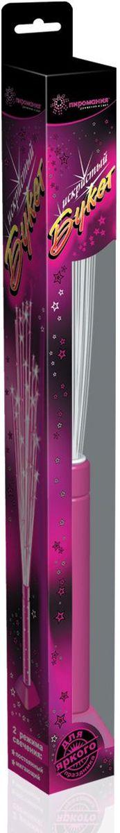 Partymania Искристый букет Т0202 цвет розовыйТ0202_розовыйИзделие развлекательного характера. Используется для создания светового эффекта в двух режимах свечения: мигающий и постоянный. Для создания наибольшего эффекта рекомендуется использовать в темноте.