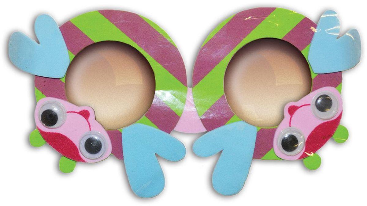 B&H Игрушка детская Очки Забавные очки BH1012 цвет жучкиBH1012_жучкиЯркие и веселые детские очки в виде забавных животных поднимут настроение Вашему ребенку.
