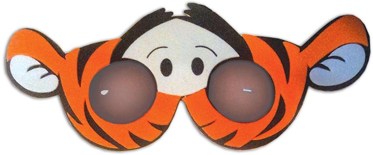 B&H Игрушка детская Очки Забавные очки BH1012 цвет тигрBH1012_тигрЯркие и веселые детские очки в виде забавных животных поднимут настроение Вашему ребенку.
