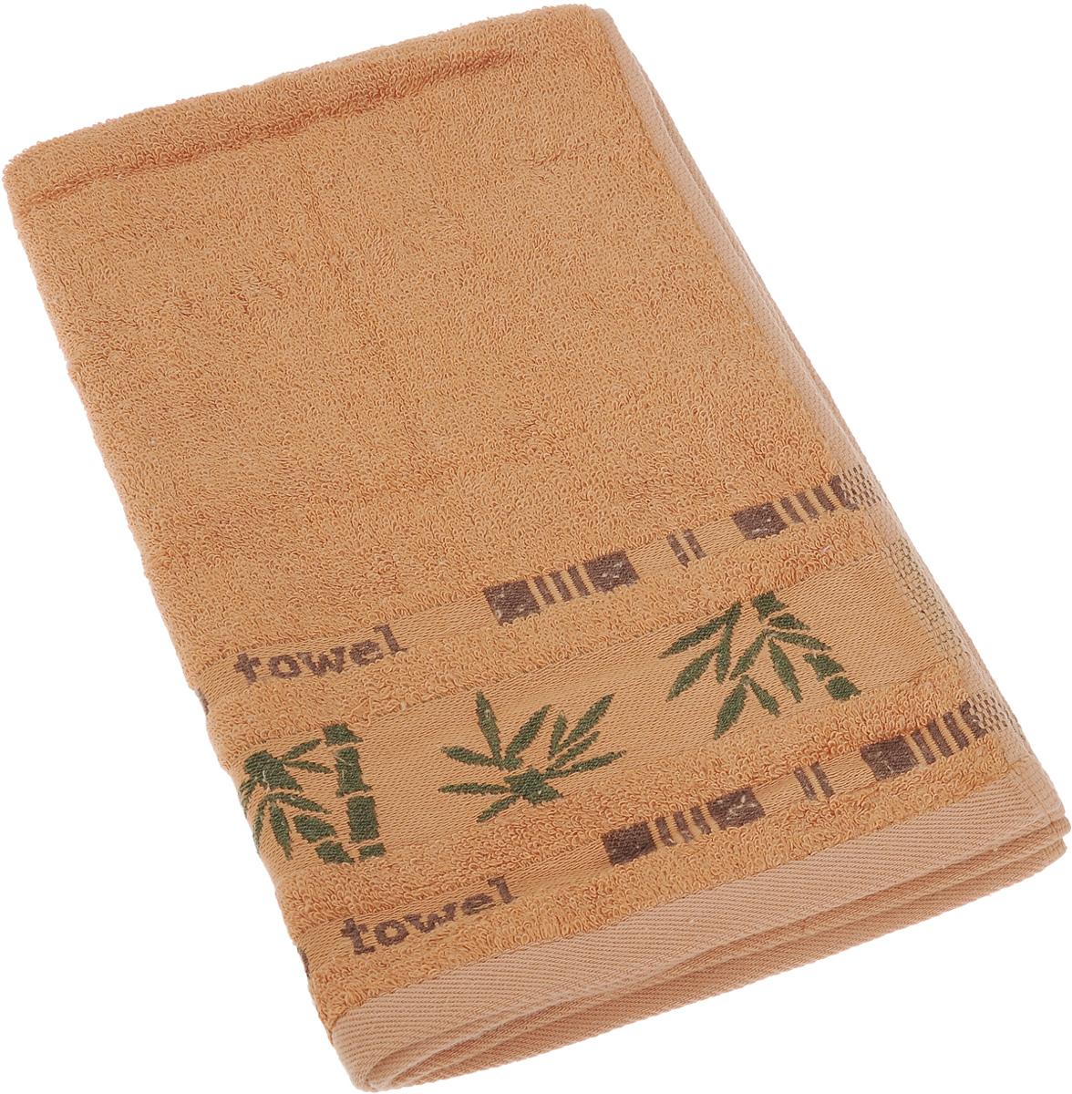Полотенце Soavita Betty, цвет: терракотовый, 40 х 60 см64132Полотенце Soavita Betty выполнено из 100% бамбукового волокна. Изделие отлично впитывает влагу, быстро сохнет, сохраняет яркость цвета и не теряет форму даже после многократных стирок. Полотенце очень практично и неприхотливо в уходе. Оно создаст прекрасное настроение и украсит интерьер.