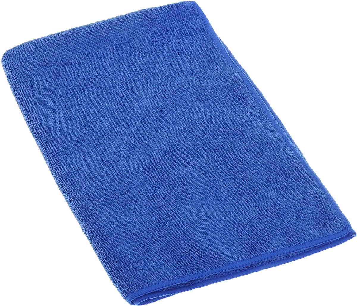 Полотенце кухонное Soavita, цвет: синий, 40 х 60 см63855Полотенце Soavita выполнено из микрофайбера (80% полиэстер и 20% полиамид). Изделие отлично впитывает влагу, быстро сохнет, сохраняет яркость цвета и не теряет форму даже после многократных стирок. Полотенце очень практично и неприхотливо в уходе. Оно создаст прекрасное настроение и украсит интерьер в ванной комнате.