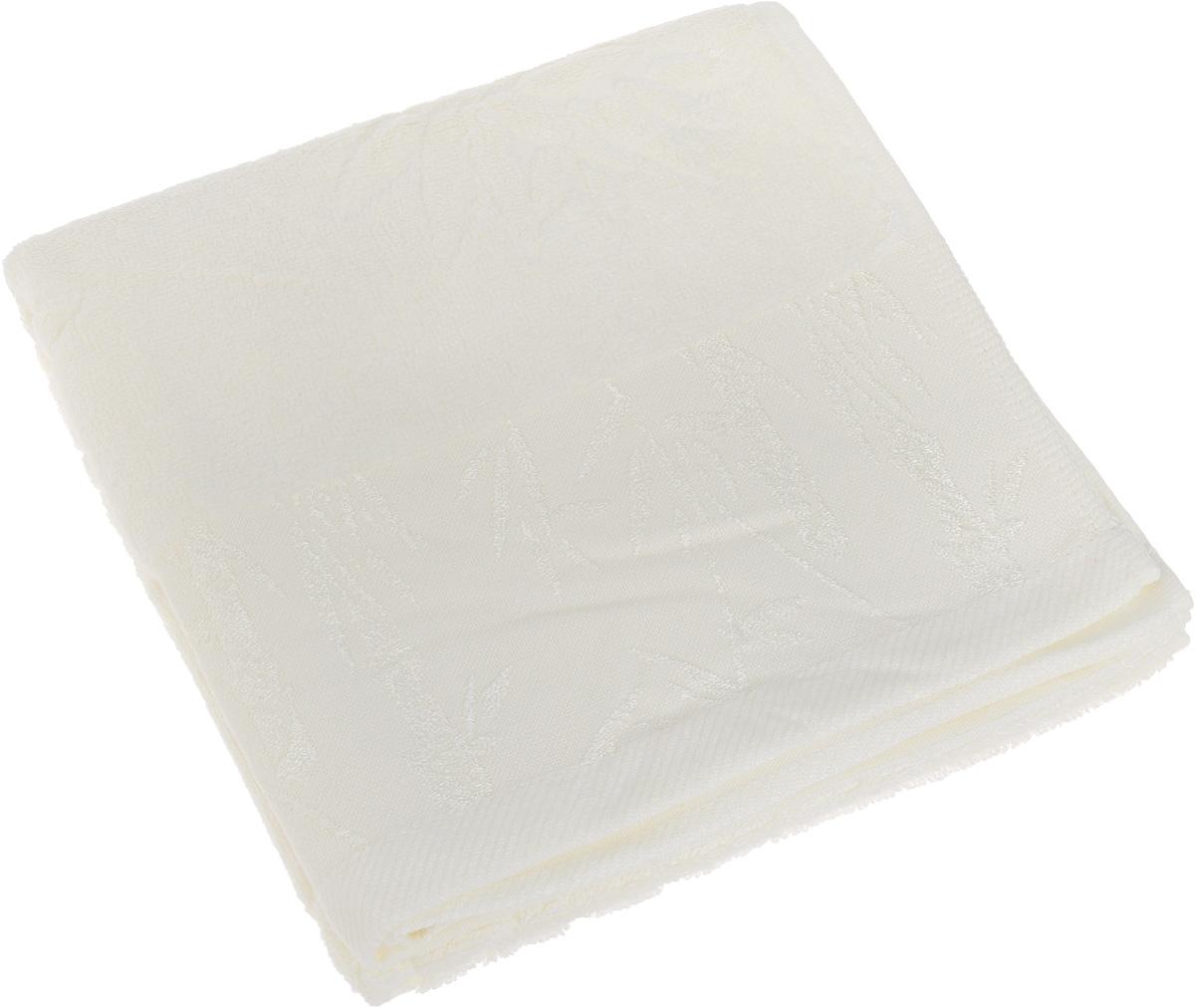 Полотенце Soavita Nancy, цвет: белый, 50 х 90 см64169Полотенце Soavita Nancy выполнено из 100% бамбукового волокна. Изделие отлично впитывает влагу, быстро сохнет, сохраняет яркость цвета и не теряет форму даже после многократных стирок. Полотенце очень практично и неприхотливо в уходе. Оно создаст прекрасное настроение и украсит интерьер в ванной комнате.