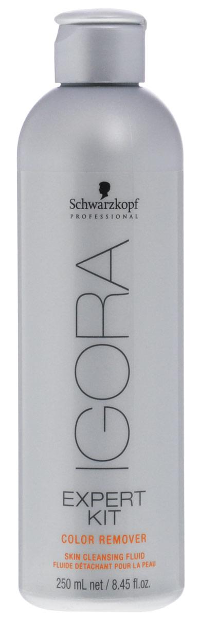 Igora Color Remover Средство для снятия краски с кожи 250 мл70583Лосьон мягко удаляет пятна краски с кожи, которые могут появиться во время процедуры окрашивания. Эффект проявляется в течение 2-3 минут после применения средства.