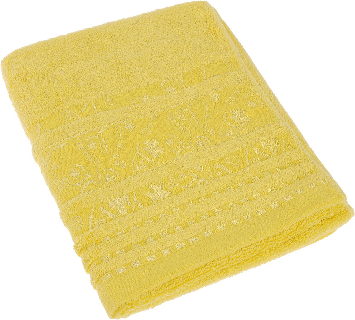 Полотенце Soavita Sandra, цвет: медовый, 50 х 90 см64063Полотенце Soavita Sandra выполнено из 100% хлопка. Изделие отлично впитывает влагу, быстро сохнет, сохраняет яркость цвета и не теряет форму даже после многократных стирок. Полотенце очень практично и неприхотливо в уходе. Оно создаст прекрасное настроение и украсит интерьер в ванной комнате.