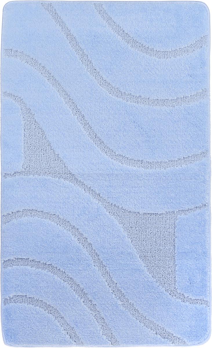 Коврик для ванной комнаты Banyolin Волны, цвет: голубой, 60 х 100 смPH3298Коврик для ванной Banyolin Волны изготовлен из полипропилена с латексной основой. Волокно превосходно впитывает влагу и создает комфортное, мягкое покрытие. Коврик, выполненный в однотонном цвете, создаст уют и комфорт в ванной комнате. Ворс мягко соприкасается с кожей стоп, вызывая только приятные ощущения. Рекомендации по уходу: - стирать в ручном режиме при температуре 30°С, - не использовать отбеливатели, - не гладить, - не подходит для сухой чистки (химчистки), - сушить можно в вертикальном и горизонтальном положении.