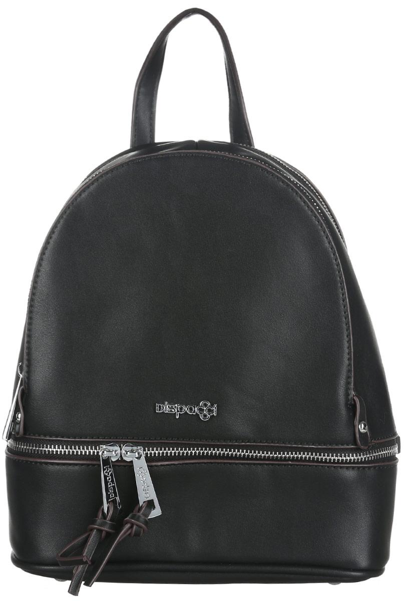 Рюкзак женский Dispacci, цвет: черный. 31978
