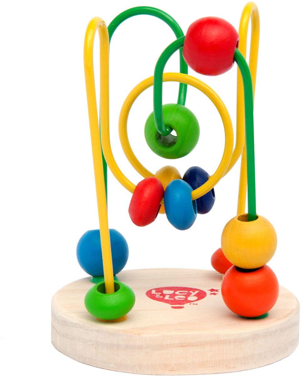 Lucy&Leo Лабиринт с бусинками №3LL115Развивающая игрушка Лабиринт с бусинками легко привлечет внимание ребенка яркими цветами и необычной формой. Игрушка представляет собой лабиринт с дорожками разного цвета, на которые нанизаны разноцветные бусинки разной формы. Игра способствует развитию логики, воображения, пространственного мышления, развивает координацию, внимание и учит различать цвета и формы. Полезно знать: Эта игрушка выполнена из качественных материалов по Европейским стандартам и покрыта специальной краской на водной основе, которая абсолютно безопасна для вашего малыша. Мы используем только экологически чистую Новозеландскую сосну для производства наших игрушек.