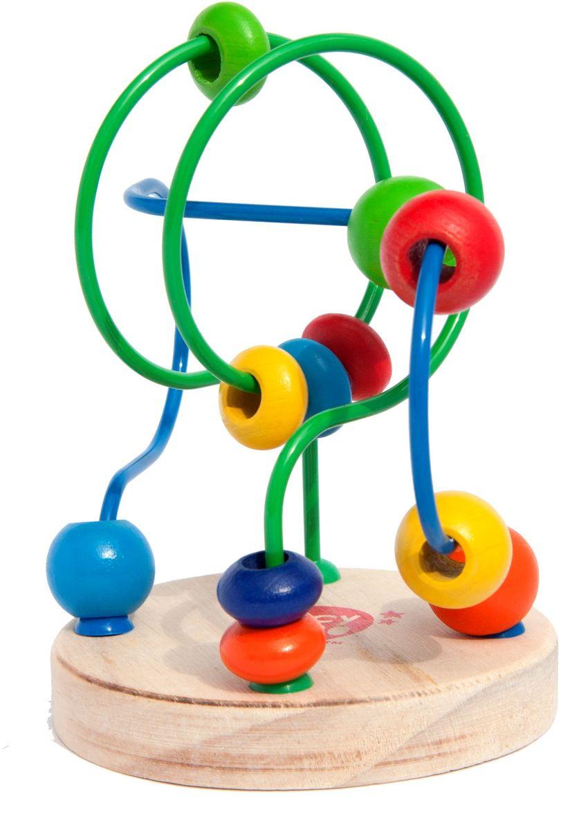 Lucy&Leo Лабиринт с бусинками №4LL116Развивающая игрушка Лабиринт с бусинками легко привлечет внимание ребенка яркими цветами и необычной формой. Игрушка представляет собой лабиринт с дорожками разного цвета, на которые нанизаны разноцветные бусинки разной формы. Игра способствует развитию логики, воображения, пространственного мышления, развивает координацию, внимание и учит различать цвета и формы. Полезно знать: Эта игрушка выполнена из качественных материалов по Европейским стандартам и покрыта специальной краской на водной основе, которая абсолютно безопасна для вашего малыша. Мы используем только экологически чистую Новозеландскую сосну для производства наших игрушек.