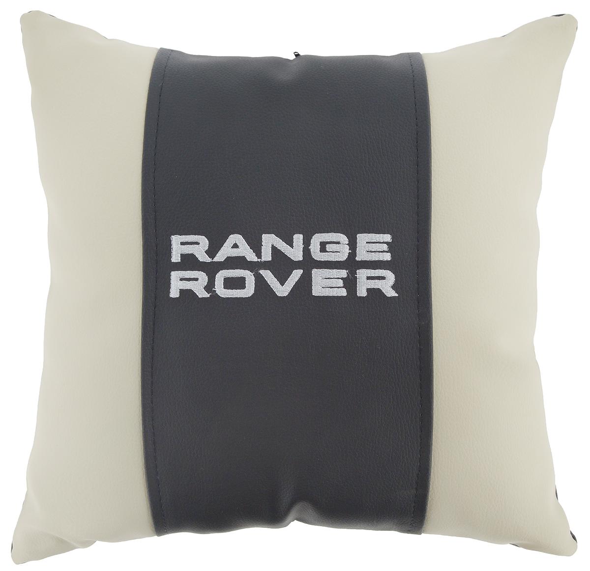 Подушка на сиденье Autoparts Range Rover, цвет: молочный, темно-серый, 30 х 30 смМ061Подушка на сиденье Autoparts Range Rover создана для тех, кто весь свой день вынужден проводить за рулем. Чехол выполнен из высококачественной дышащей экокожи. Наполнителем служит холлофайбер. На задней части подушки имеется змейка. Особенности подушки: - Хорошо проветривается. - Предупреждает потение. - Поддерживает комфортную температуру. - Обминается по форме тела. - Улучшает кровообращение. - Исключает затечные явления. - Предупреждает развитие заболеваний, связанных с сидячим образом жизни. Подушка также будет полезна и дома - при работе за компьютером, школьникам - при выполнении домашних работ, да и в любимом кресле перед телевизором.