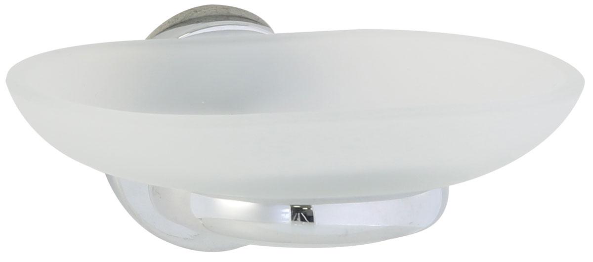 Мыльница Axentia Capri, настенная, на шурупах, 12,5 х 11 х 6,5 см122439Настенная мыльница Axentia Capri изготовлена из матового стекла и стали с качественным хромированным покрытием, которое на долго защитит изделие от ржавчины в условиях высокой влажности в ванной комнате. Мыльница имеет скрытое крепление на шурупах (в комплекте). Отлично сочетается с другими аксессуарами из коллекции Capri. Размеры: 12,5 х 11 х 6,5 см.