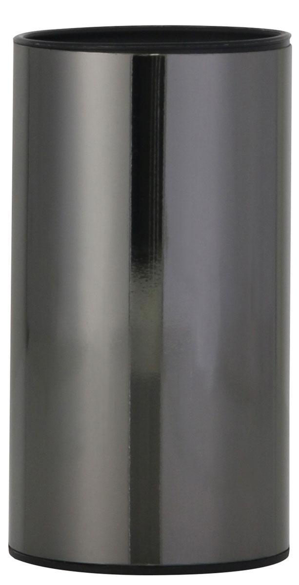 Стакан для ванной комнаты Axentia Bologna, цвет: черный122391Изготовлена из сатинированной нержавеющей стали черного цвета снаружи и черного полипропилена внутри. Отлично сочетается с другими аксессуарами из коллекции Bologna.