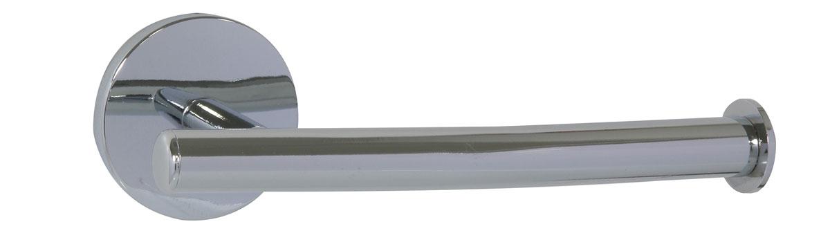 Держатель для туалетной бумаги Axentia Capri, 16,7 х 7,5 х 6 см122434Держатель для туалетной бумаги Axentia Capri изготовлен из высококачественной стали с хромированным покрытием, которое на долго защитит изделие от ржавчины в условиях высокой влажности в ванной комнате. Изделие крепится на стену с помощью шурупов (входят в комплект). Держатель поможет оформить интерьер в выбранном стиле, разбавляя пространство туалетной комнаты различными элементами. Он хорошо впишется в любой интерьер, придавая ему черты современности. Отлично сочетается с другими аксессуарами из коллекции Capri. Размер держателя: 16,5 х 7,5 х 6 см.