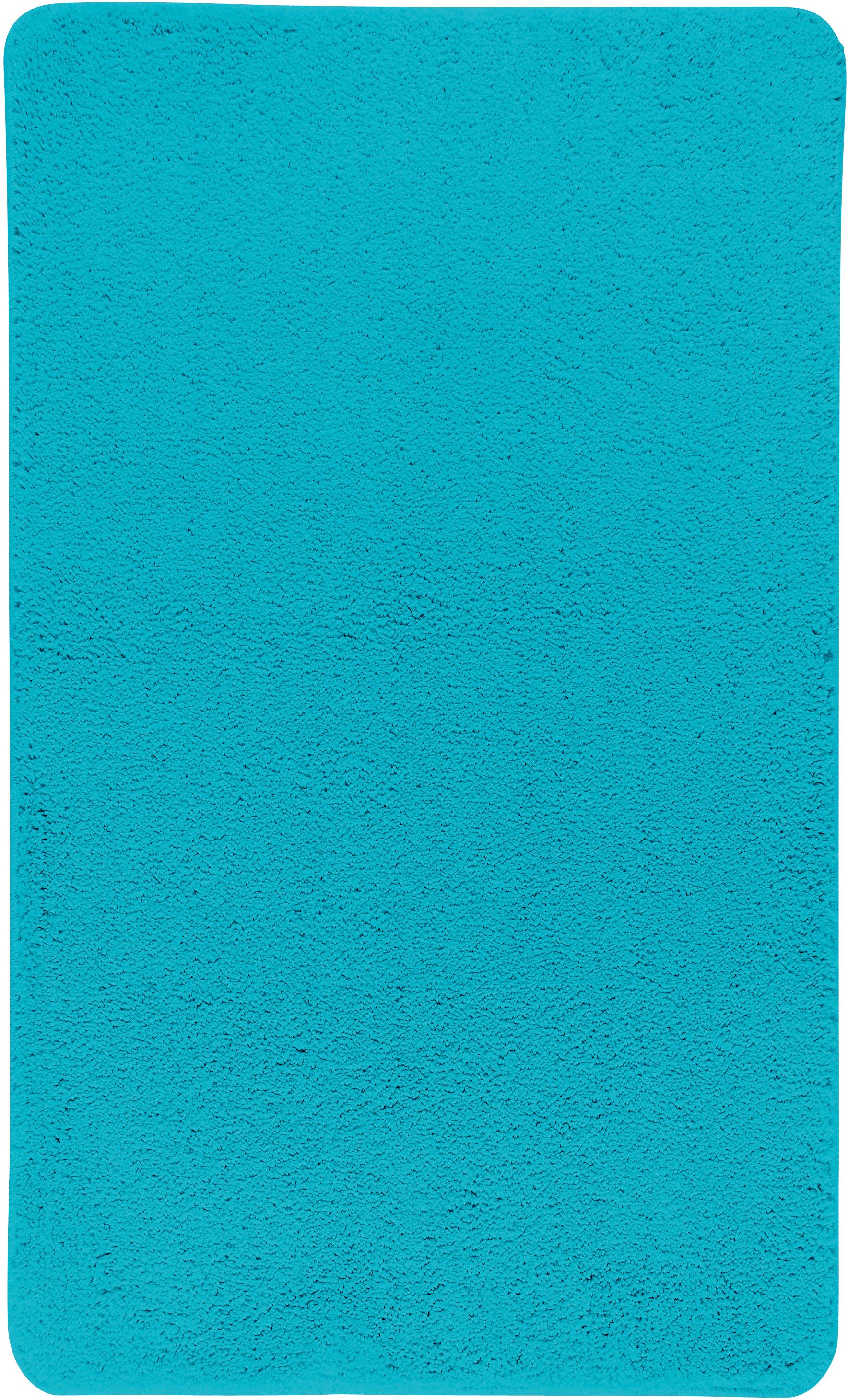 Коврик для ванной Axentia, прямоугольный, цвет: бирюзовый, 60 х 100 см116076Коврик для ванной комнаты из микрофибры, прямоугольный, большой 60х100 см. Высота ворса 1,5 см, стеганный. Противоскользящее основание изготовлено из термопластичной резины и подходит для полов с подогревом. Коврик мягкий и приятный на ощупь, отлично впитывает влагу и быстро сохнет. Можно стирать в стиральной машине. Высокая износостойкость коврика и стойкость цвета позволит вам наслаждаться покупкой долгие годы. Широкая гамма расцветок ковриков Axentia удовлетворит самый притязательный вкус.
