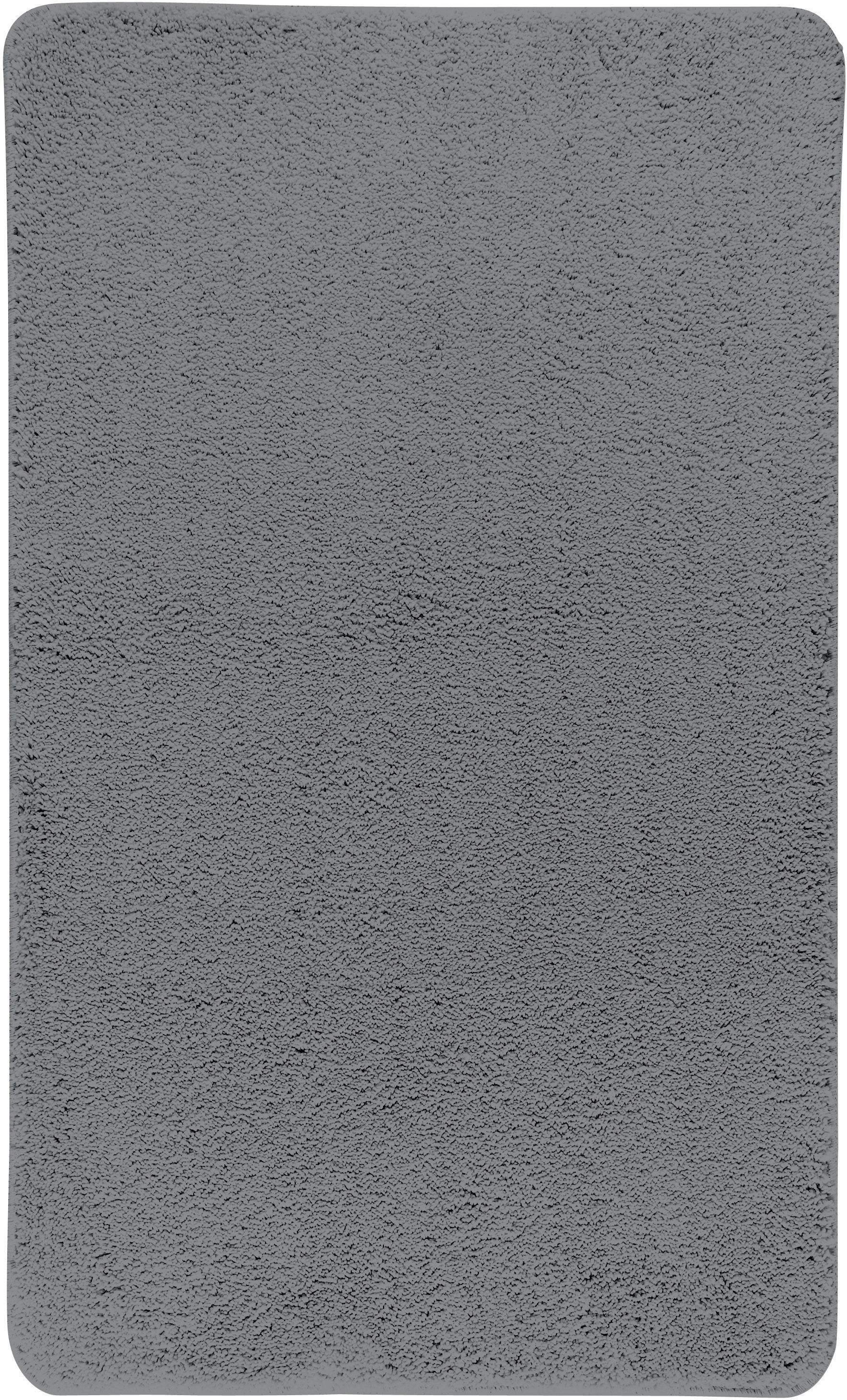 Коврик для ванной Axentia, прямоугольный, цвет: серый, 60 х 100 см116074Коврик для ванной комнаты из микрофибры, прямоугольный, большой 60х100 см. Высота ворса 1,5 см, стеганный. Противоскользящее основание изготовлено из термопластичной резины и подходит для полов с подогревом. Коврик мягкий и приятный на ощупь, отлично впитывает влагу и быстро сохнет. Можно стирать в стиральной машине. Высокая износостойкость коврика и стойкость цвета позволит вам наслаждаться покупкой долгие годы. Широкая гамма расцветок ковриков Axentia удовлетворит самый притязательный вкус.