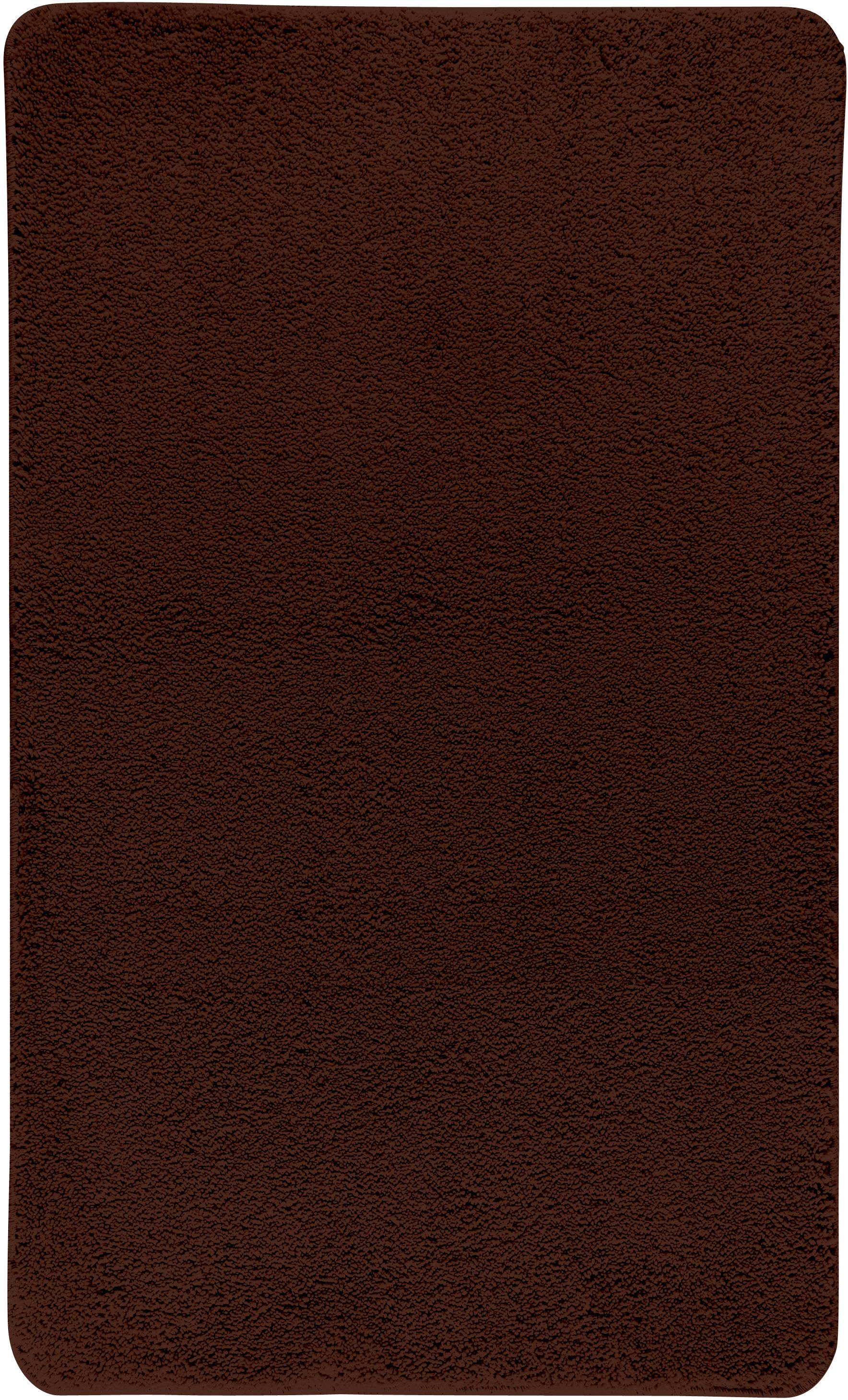 Коврик для ванной Axentia, прямоугольный, цвет: коричневый, 60 х 100 см116078Коврик для ванной комнаты из микрофибры, прямоугольный, большой 60х100 см. Высота ворса 1,5 см, стеганный. Противоскользящее основание изготовлено из термопластичной резины и подходит для полов с подогревом. Коврик мягкий и приятный на ощупь, отлично впитывает влагу и быстро сохнет. Можно стирать в стиральной машине. Высокая износостойкость коврика и стойкость цвета позволит вам наслаждаться покупкой долгие годы. Широкая гамма расцветок ковриков Axentia удовлетворит самый притязательный вкус.