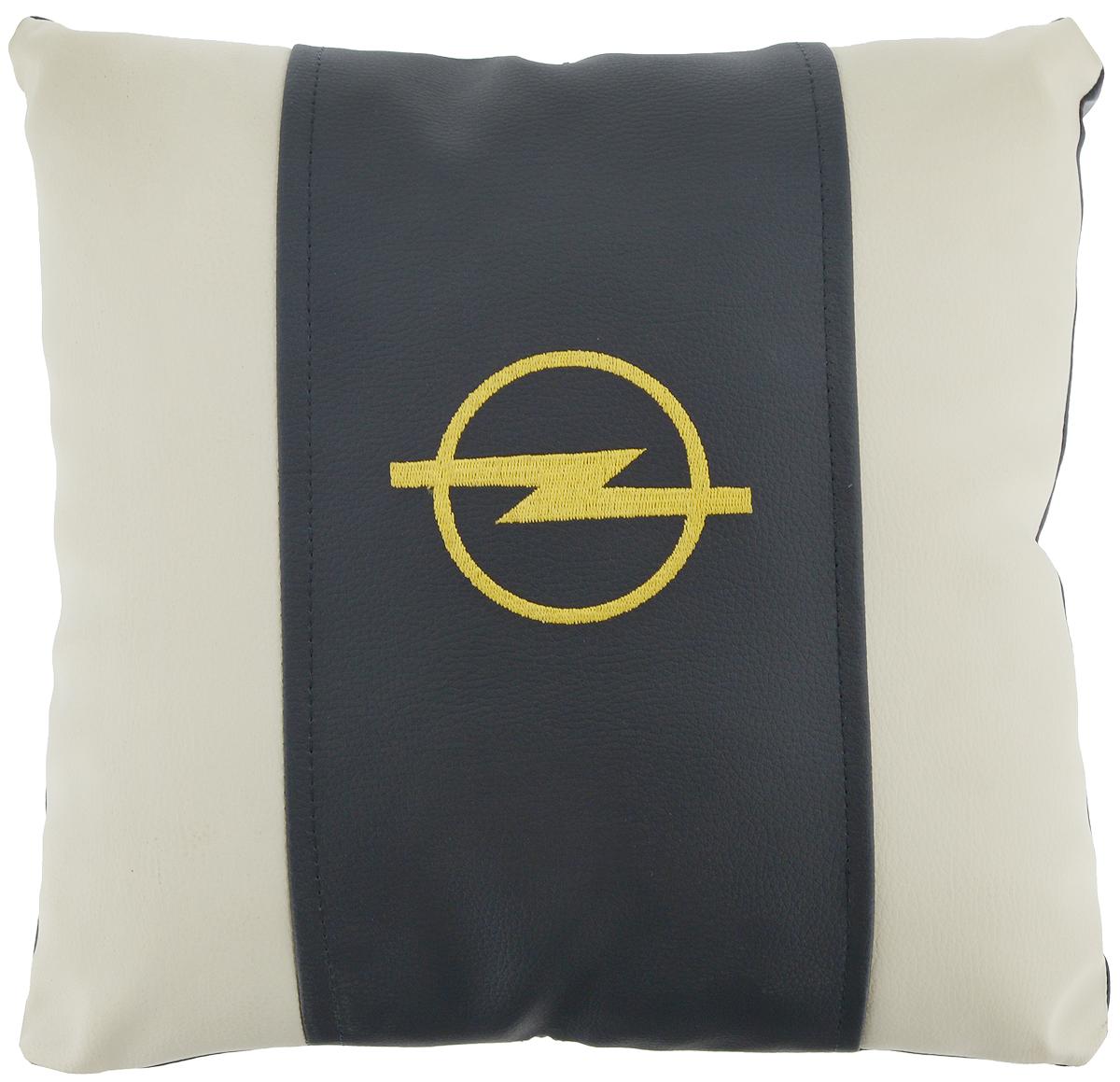 Подушка на сиденье Autoparts Opel, 30 х 30 смМ050Подушка на сиденье Autoparts Opel создана для тех, кто весь свой день вынужден проводить за рулем. Чехол выполнен из высококачественной дышащей экокожи. Наполнителем служит холлофайбер. На задней части подушки имеется змейка. Особенности подушки: - Хорошо проветривается. - Предупреждает потение. - Поддерживает комфортную температуру. - Обминается по форме тела. - Улучшает кровообращение. - Исключает затечные явления. - Предупреждает развитие заболеваний, связанных с сидячим образом жизни. Подушка также будет полезна и дома - при работе за компьютером, школьникам - при выполнении домашних работ, да и в любимом кресле перед телевизором.