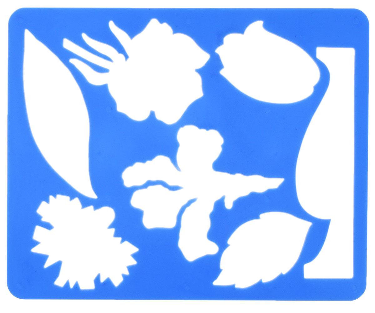 Луч Трафарет прорезной Цветы садовые цвет синий10С 567-08_синийТрафарет Луч Цветы садовые, выполненный из безопасного материала, предназначен для детского творчества. По трафарету маленькие художники смогут нарисовать красивый букет из садовых цветов и поместить его в вазу. Для этого необходимо положить трафарет на лист бумаги, обвести фигуру по контуру и раскрасить по своему вкусу или глядя на цветную картинку-образец. Трафареты предназначены для развития у детей мелкой моторики и зрительно-двигательной координации, навыков художественной композиции и зрительного восприятия.