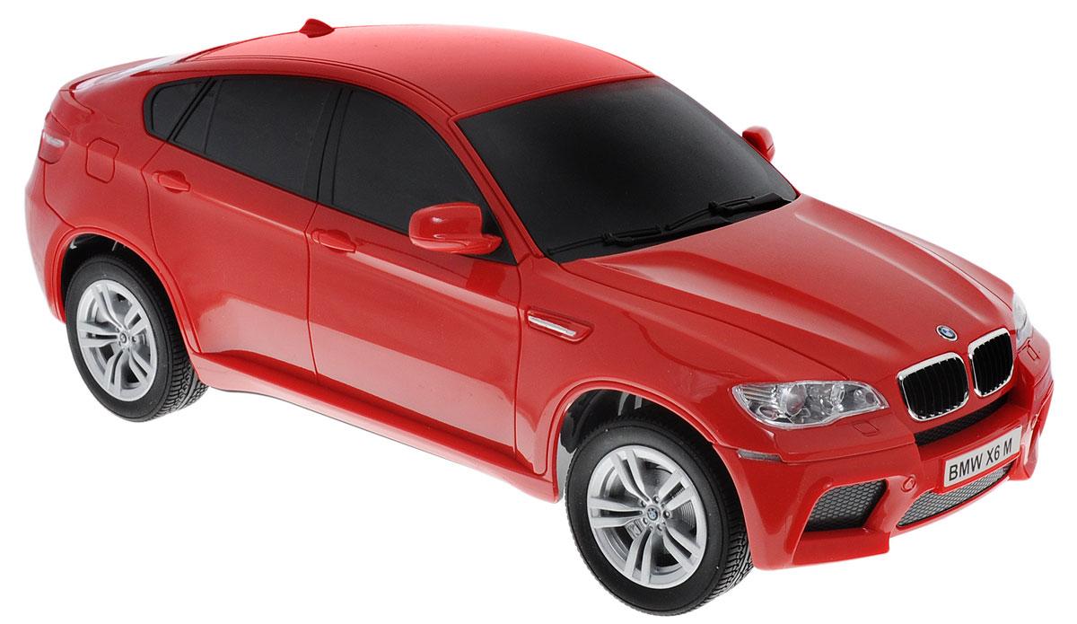 TopGear Радиоуправляемая модель BMW X6 цвет красный масштаб 1:18Т56675_красныйРадиоуправляемая модель TopGear BMW X6 станет отличным подарком любому мальчику! Это точная копия настоящего автомобиля в масштабе 1:18. Управление игрушкой происходит при помощи удобного пульта. Пульт управления работает на частоте 27 MHz. Автомобиль движется во всех направлениях. Обладает световыми эффектами. Радиоуправляемые игрушки способствуют развитию координации движений, моторики и ловкости. Ваш ребенок часами будет играть с моделью, придумывая различные истории и устраивая соревнования. Порадуйте его таким замечательным подарком. Автомобиль работает от сменного аккумулятора (входит в комплект). Аккумулятор заряжается при помощи зарядного устройства (входит в комплект). Для работы пульта управления необходимы 2 батарейки напряжением 1,5V типа АА (входят в комплект).