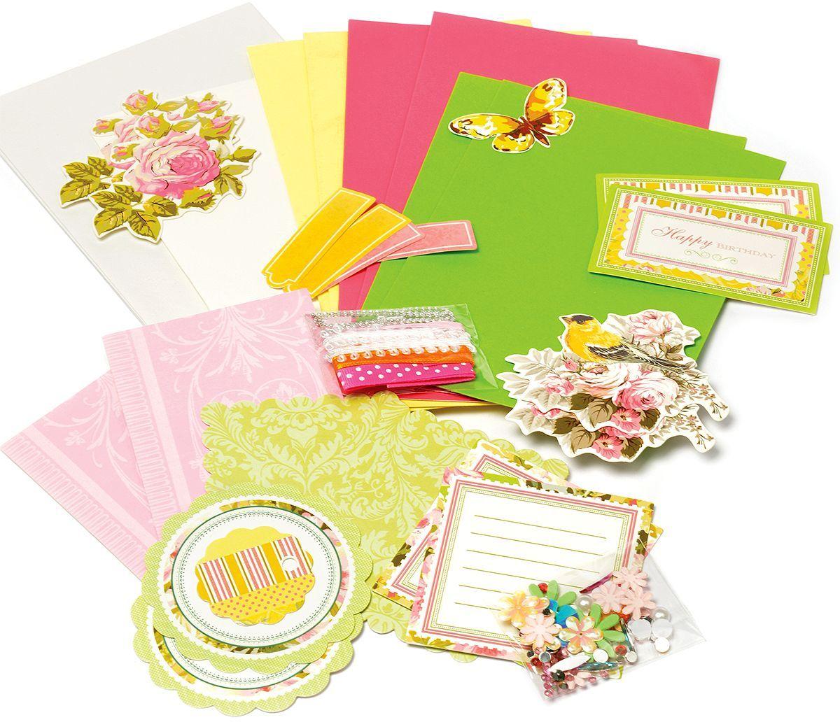 Набор для создания открыток Magic 4 Hobby MG.DIY-6B №1 11,5x17 см; 11,5x21 смMG.DIY-6B.1