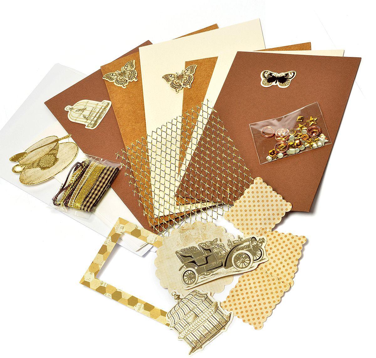 Набор для создания открыток Magic 4 Hobby MG.DIY-6B №3 11,5x17 см; 11,5x21 смMG.DIY-6B.3