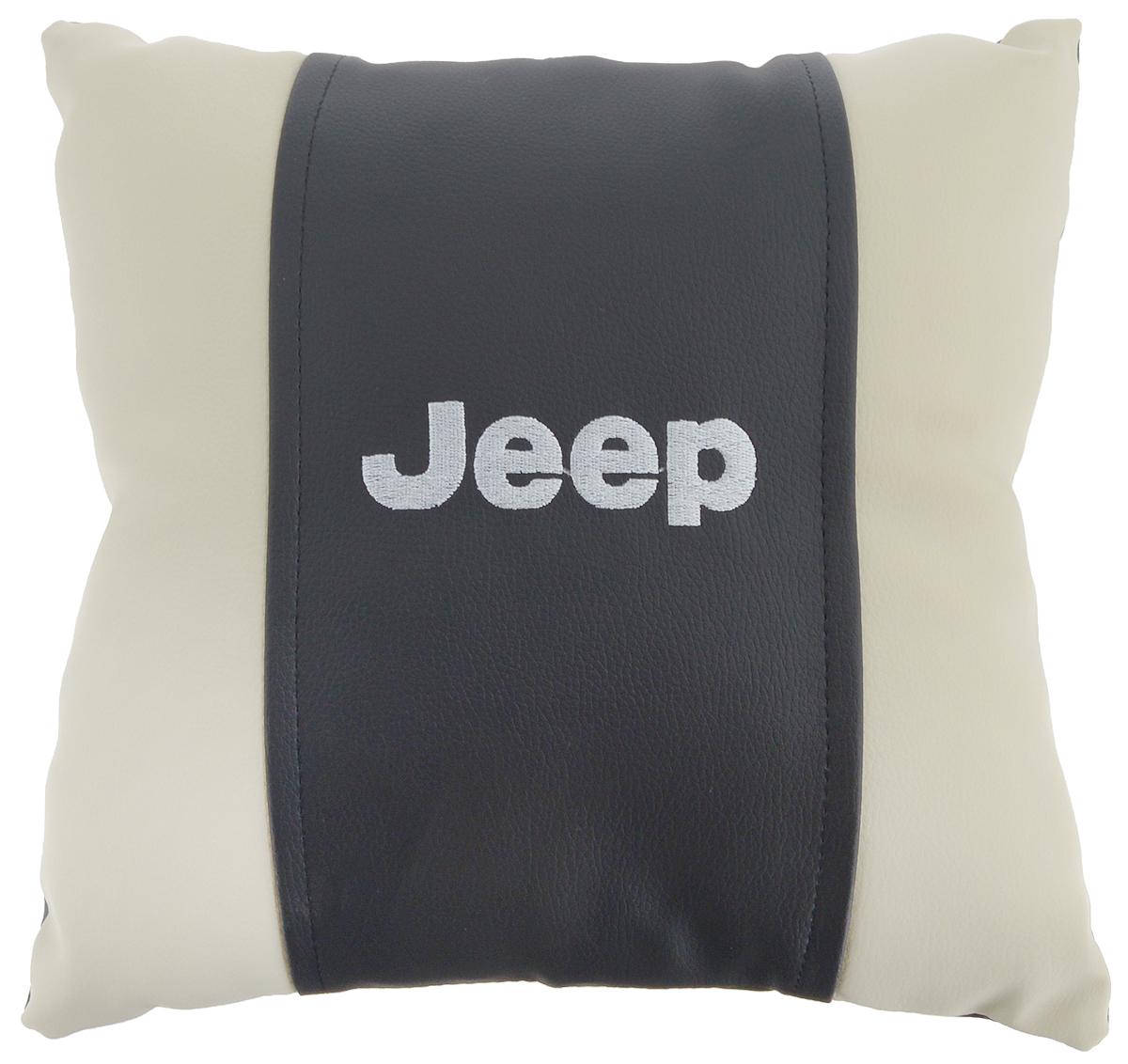 Подушка на сиденье Autoparts Jeep, 30 х 30 смМ074Подушка на сиденье Autoparts Jeep создана для тех, кто весь свой день вынужден проводить за рулем. Чехол выполнен из высококачественной дышащей экокожи. Наполнителем служит холлофайбер. На задней части подушки имеется змейка. Особенности подушки: - Хорошо проветривается. - Предупреждает потение. - Поддерживает комфортную температуру. - Обминается по форме тела. - Улучшает кровообращение. - Исключает затечные явления. - Предупреждает развитие заболеваний, связанных с сидячим образом жизни. Подушка также будет полезна и дома - при работе за компьютером, школьникам - при выполнении домашних работ, да и в любимом кресле перед телевизором.