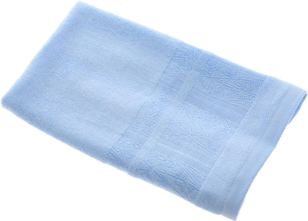Полотенце Soavita Carol, цвет: голубой, 30 х 50 см69524Полотенце Soavita Carol выполнено из 100% бамбукового волокна. Изделие отлично впитывает влагу, быстро сохнет, сохраняет яркость цвета и не теряет форму даже после многократных стирок. Полотенце очень практично и неприхотливо в уходе. Оно создаст прекрасное настроение и украсит интерьер в ванной комнате. Рекомендуется стирка при температуре 40°C.