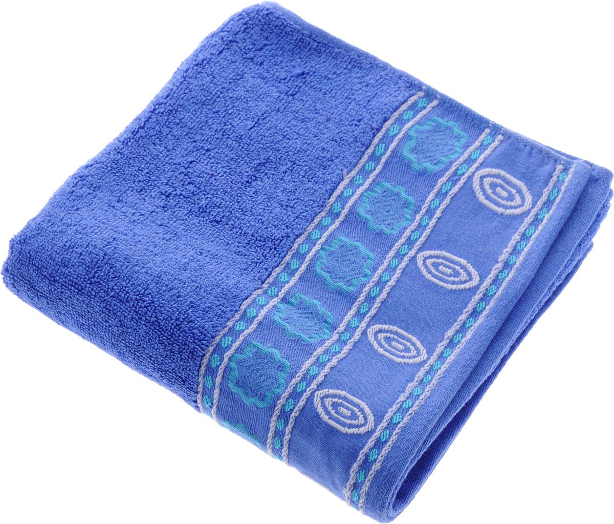 Полотенце Soavita Bruno, цвет: ярко-синий, 50 х 90 см64039Полотенце Soavita Bruno выполнено из 100% хлопка. Изделие отлично впитывает влагу, быстро сохнет, сохраняет яркость цвета и не теряет форму даже после многократных стирок. Полотенце очень практично и неприхотливо в уходе. Оно создаст прекрасное настроение и украсит интерьер в ванной комнате. Рекомендуется стирка при температуре 40°C.