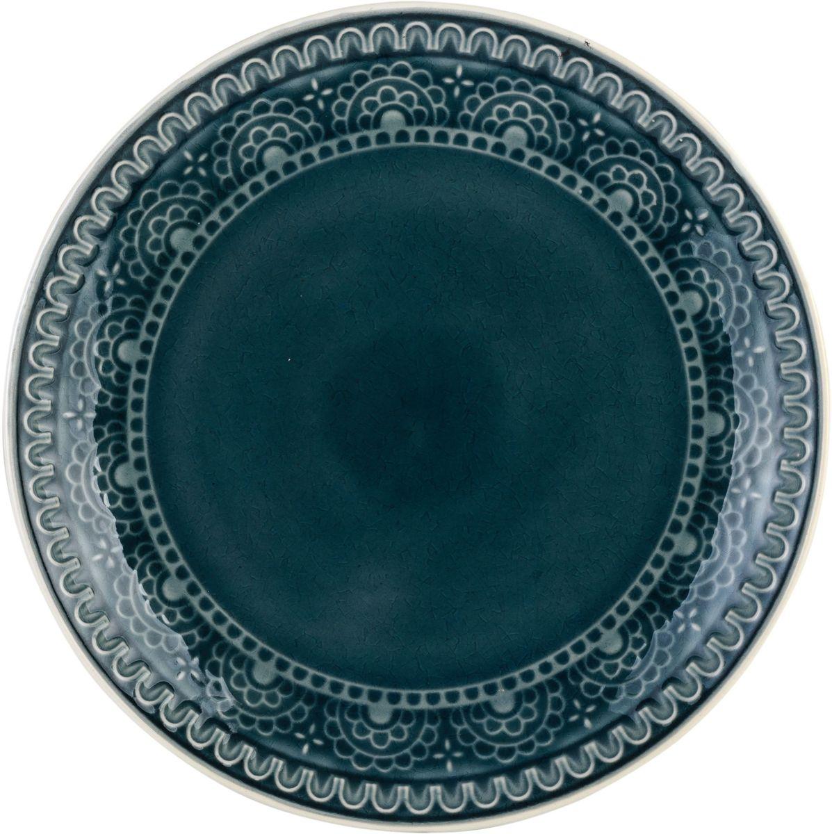 Набор обеденных тарелок Tongo, цвет: темно-серый, диаметр 26,7 см, 4 штPL-267g Tongo Набор тарелок обеденныхНабор Tongo состоит из 4 обеденных тарелок. Изделия изготовлены из экологически чистой каменной керамики, покрытой сверкающей глазурью и оформлены этническим рельефным орнаментом Индонезии. Поверхность слегка потрескавшаяся, что придает посуде винтажный вид и оттенок старины. Такой набор прекрасно подходит как для торжественных случаев, так и для повседневного использования. Идеальны для подачи вторых блюд. Тарелки прекрасно оформят стол и станут отличным дополнением к вашей коллекции кухонной посуды.
