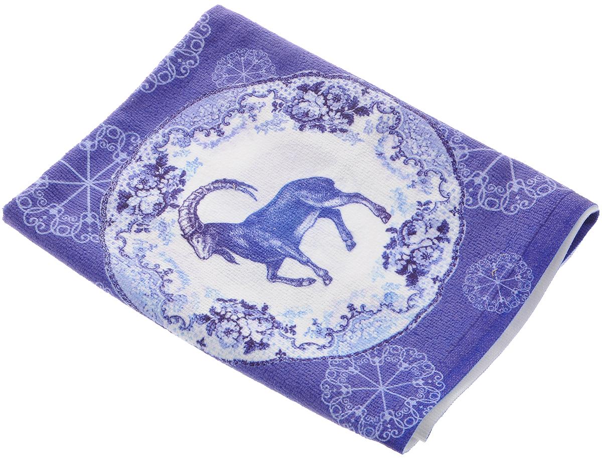 Полотенце кухонное Soavita Коза. Овца, 38 х 64 см74718Кухонное полотенце Soavita Коза. Овца выполнено из микрофибры (80% полиэстер, 20% полиамид). Оно отлично впитывает влагу, быстро сохнет, сохраняет яркость цвета и не теряет форму даже после многократных стирок. Изделие предназначено для использования на кухне и в столовой. Такое полотенце станет отличным вариантом для практичной и современной хозяйки.