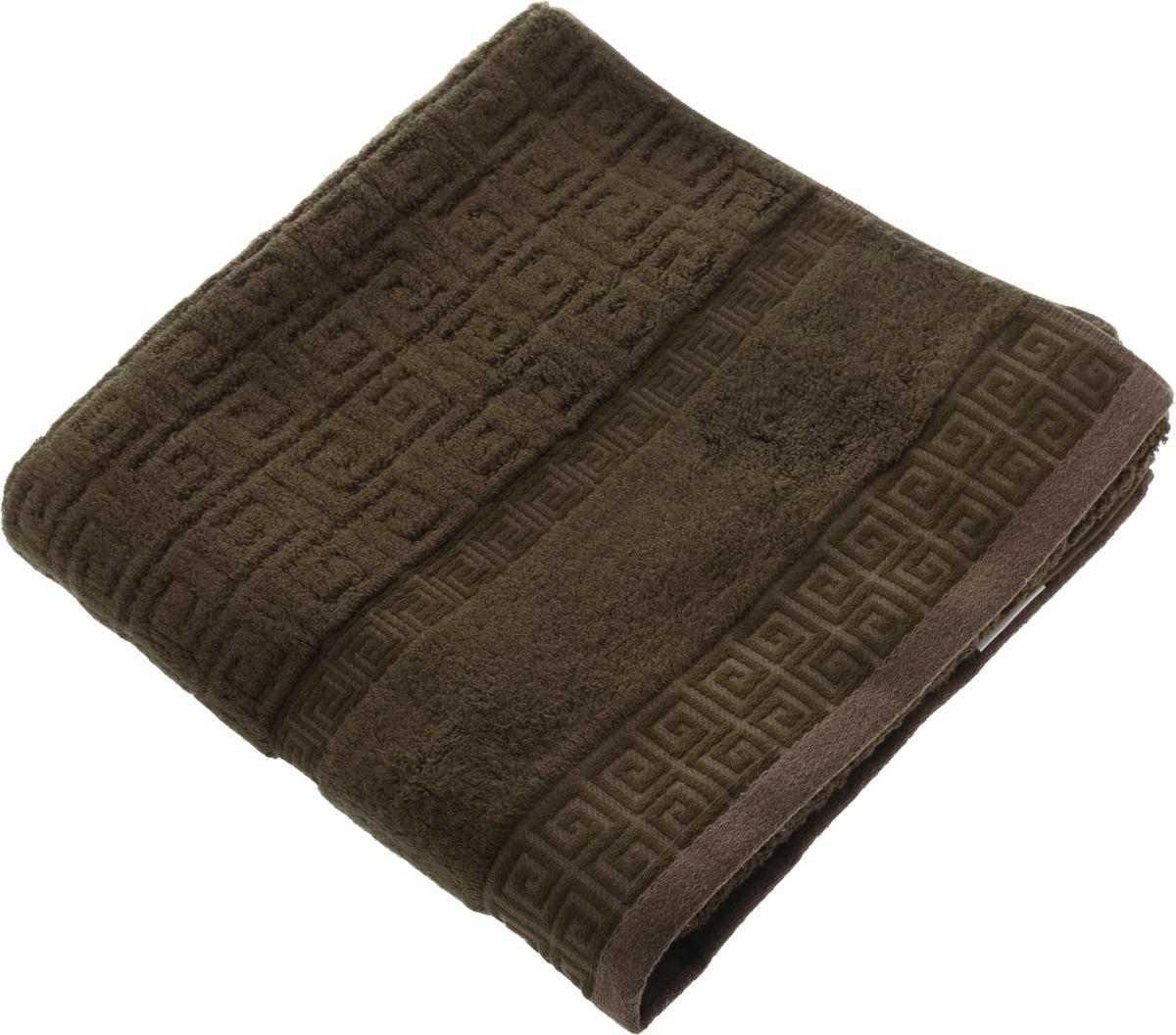 Полотенце Soavita Alber, цвет: коричневый, 70 х 130 см64151Полотенце Soavita Alber выполнено из 100% бамбукового волокна. Изделие отлично впитывает влагу, быстро сохнет, сохраняет яркость цвета и не теряет форму даже после многократных стирок. Полотенце очень практично и неприхотливо в уходе. Оно создаст прекрасное настроение и украсит интерьер в ванной комнате. Рекомендуется стирка при температуре 40°C.