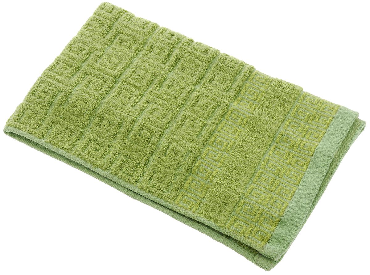 Полотенце Soavita Alber, цвет: зеленый, 30 х 50 см64145Полотенце Soavita Alber выполнено из 100% бамбукового волокна. Изделие отлично впитывает влагу, быстро сохнет, сохраняет яркость цвета и не теряет форму даже после многократных стирок. Полотенце очень практично и неприхотливо в уходе. Оно создаст прекрасное настроение и украсит интерьер в ванной комнате.