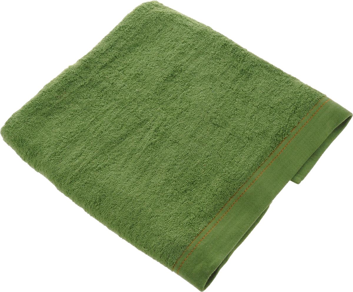 Полотенце Soavita Denim, цвет: зеленый, 70 х 140 см61071Полотенце Soavita Denim выполнено из 100% хлопка. Изделие отлично впитывает влагу, быстро сохнет, сохраняет яркость цвета и не теряет форму даже после многократных стирок. Полотенце очень практично и неприхотливо в уходе. Оно создаст прекрасное настроение и украсит интерьер в ванной комнате.